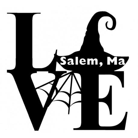 Love Salem Sticker