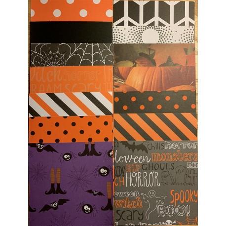 6x6 Halloween Cardstock Squares