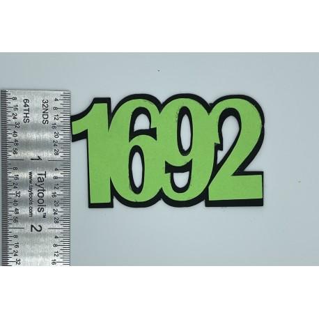 1692 Die Cut