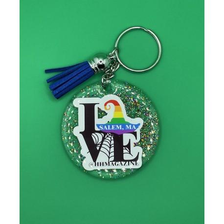 Love Salem Pride Keychain